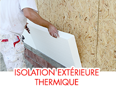 Isolation extérieure thermique